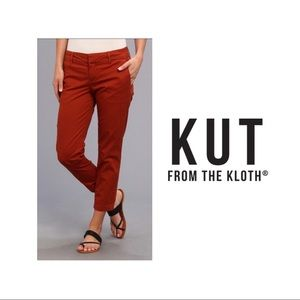 NEW KUT From The Cloth Relaxed Fit Trousers pants
